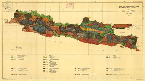 exploratory soil map  java  madura esdac