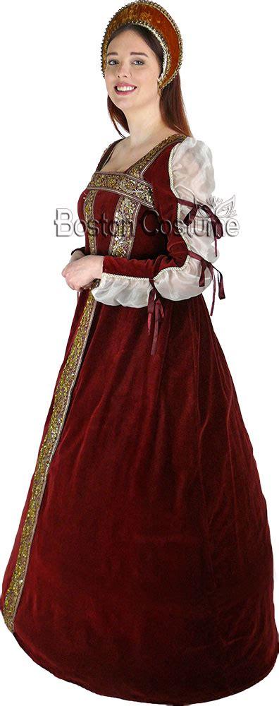 medievaltudor woman costume  boston costume