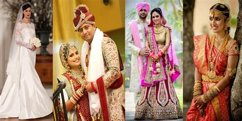 Dressing Combinations & Variations For Traditional Wedding