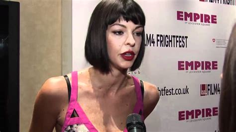 Cast Of Halloween 2 by Pollyanna Mcintosh Interview Youtube