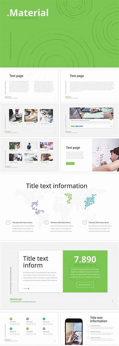 Material Ppt Template Keynote Powerpoint Presentation Slides