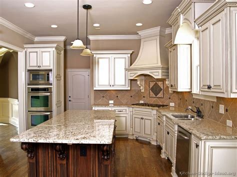 kitchen ideas with white cabinets pictures of kitchens traditional two tone kitchen cabinets