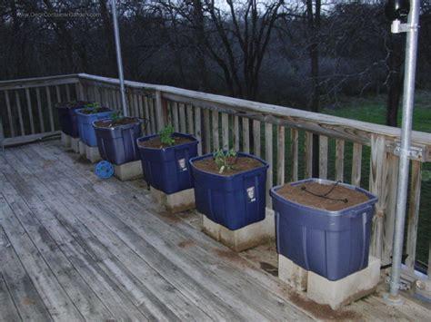 deck gardening containers starting a container vegetable garden gentleman farmer