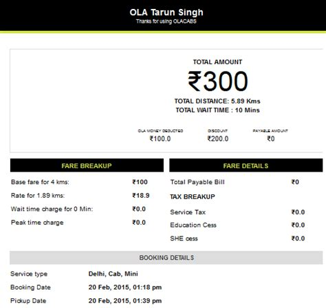 Uber Vs Ola For A First Time User In India