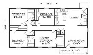 simple house floor plans with measurements simple house floor plan with dimensions house design ideas