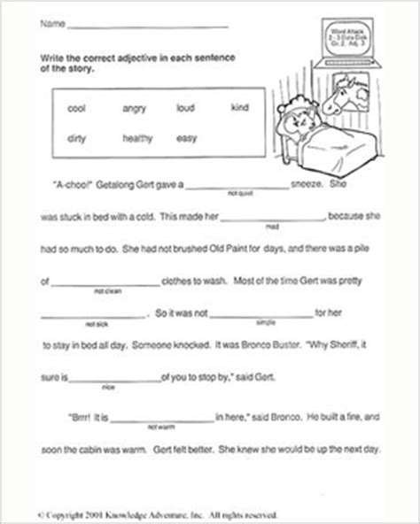 15 best images of second grade writing worksheets free