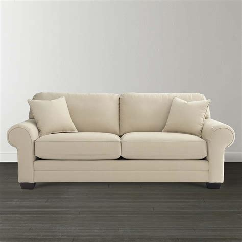 loveseat settee upholstered design your own sleeper sofa bassett furniture