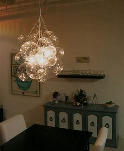 Diy glass chandeliers bubble chandelier by mint love