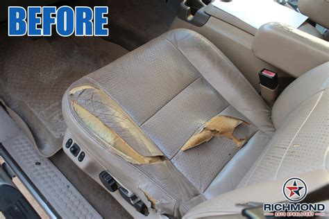 richmond auto upholstery 2002 2003 ford f 250 lariat perforated leather seat cover