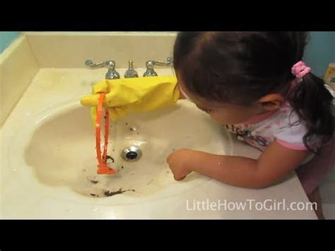 fixing a clogged kitchen sink how to clear a clogged sink episode 12 8941