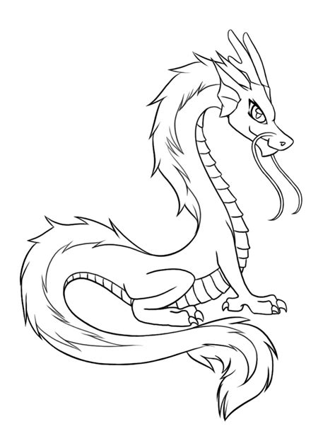 Dragon Coloring Pages Printable 01