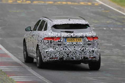 Jaguar F-pace Svr First Spy Shots