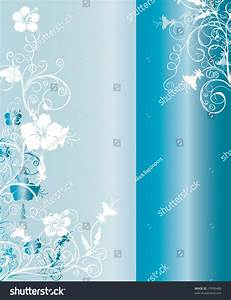 Vertical Light Blue And Silver Background Pattern With ...