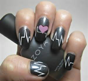 Nail art heart designs fashionate trends