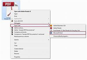 how to edit pdf documents using microsoft word 2013 With pdf documents opening in word