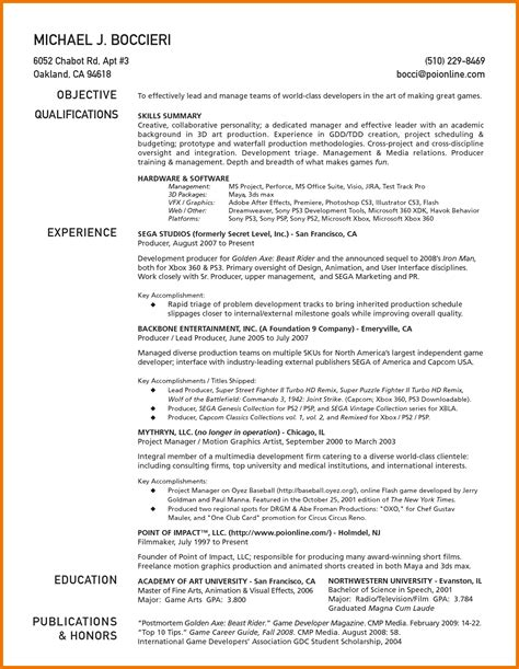 lovely gallery of one page resume exles business