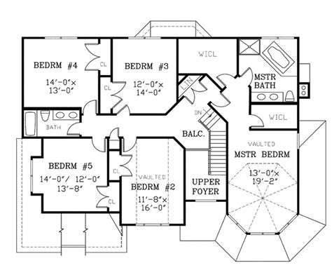Viktorianisches Haus Grundriss by Back Style House Floor Plans House Plans 44917