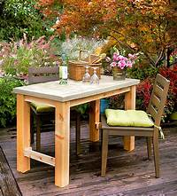 fine patio side table plans DIY Outdoor Concrete Table | Better Homes & Gardens