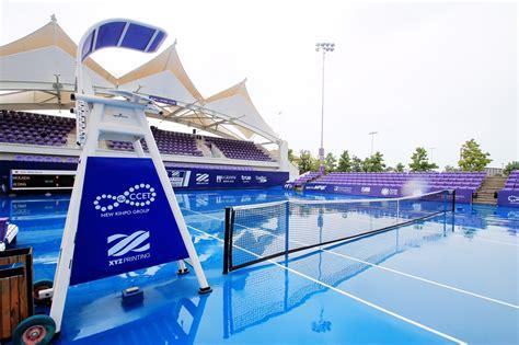 ฝนป่วนหนัก เทนนิสแคล-คอมพ์ฯ ที่หัวหิน ต้องเลื่อนแข่ง