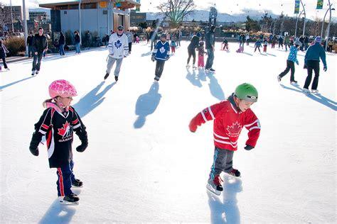 skating schedules city  kelowna