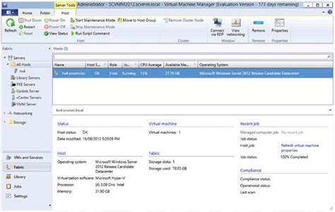 System Center Virtual Machine Manager 2012: Virtual ...