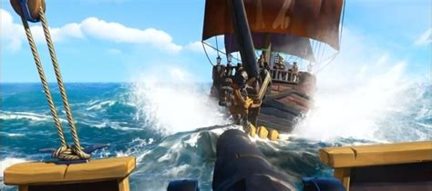 Sea of Thieves gameplay details revealed | GameWatcher