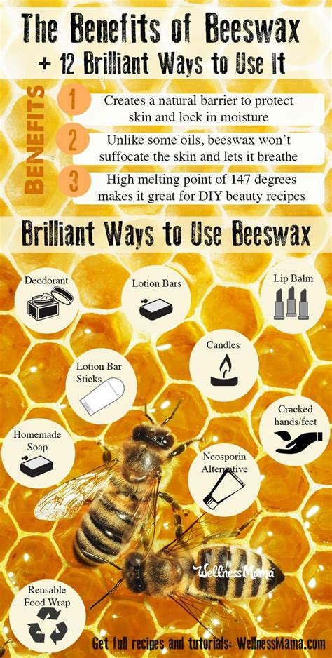 Benefits of Beeswax (Plus,12 Creative Ways to Use It