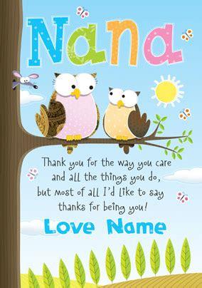 wwwfunkypigeoncom personalised card giggles nana