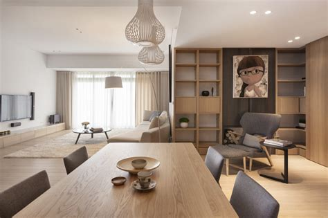 pure apartment designed  js space taiwan