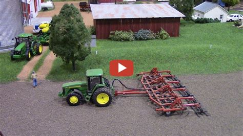 Ziel Farm Boone Ia Address by Andrew O Leary Farm Display With John Deere Tractors At