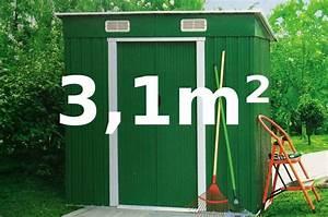 Geräteschuppen Aus Metall : gartenhaus ger teschuppen 3 1m 2 4x1 3m aus verzinktem stahlblech metall gr n kaufen bei ~ Buech-reservation.com Haus und Dekorationen