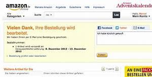 Amazon Bestellung Auf Rechnung : dankeseite im onlineshop optimieren ~ Themetempest.com Abrechnung