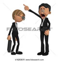 Boss and Employee Clip Art Free