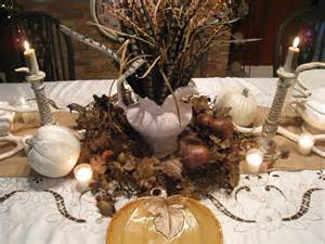 decor thanksgiving table decorations pinterest sloped ceiling dining rustic compact pavers