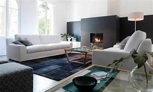 Ensemble Salon Sejour : meubles de salon 96 id es pour l 39 int rieur moderne en photos superbes ~ Teatrodelosmanantiales.com Idées de Décoration
