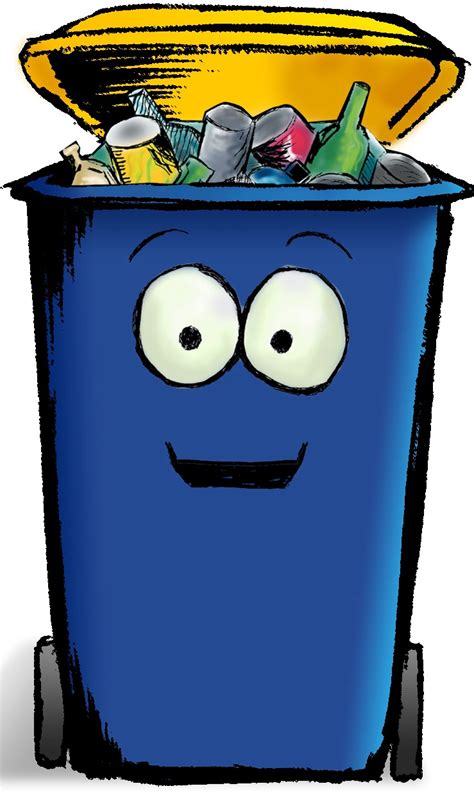 Image result for Put Recyclables in Recycle Bin Clip Art