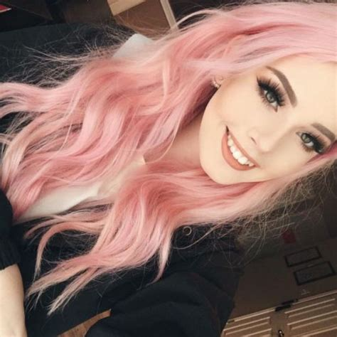 54 Pretty Pink Hair Color Ideas Ombre Highlights And Pink