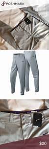 Clearout Nwt Nike Boys 39 Dri Fit Baseball Pants Lrg