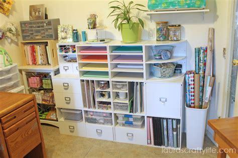 Craft Storage Ideas Spring Blog Hop 2014  Laura's Crafty Life