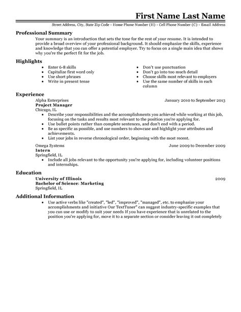 work resume samples job resume template learnhowtoloseweight net
