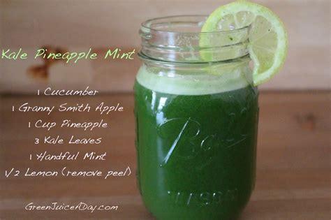 juice recipes kale beginners pineapple smoothie recipe juicing juicer apple celery cucumber mint healthy easy diet benefits drink lemon spinach