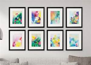 Gallery Wall Free Printables: Download all 8 Colourful ...