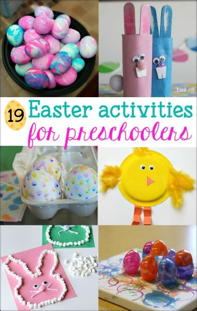 19 easter activities for preschoolers mess for less 326 | easter activities for preschoolers