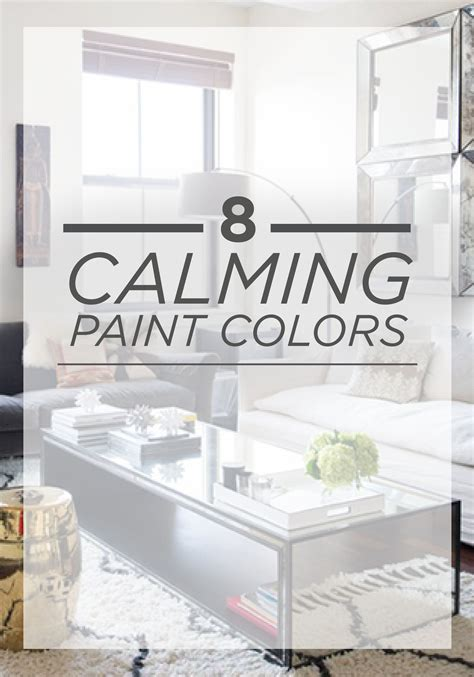 relax 8 paint colors that can help reduce stress