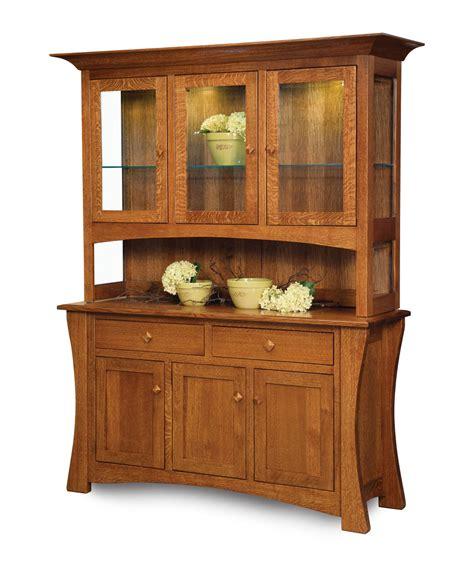 Craft Hutch - arts and crafts hutch amish direct furniture