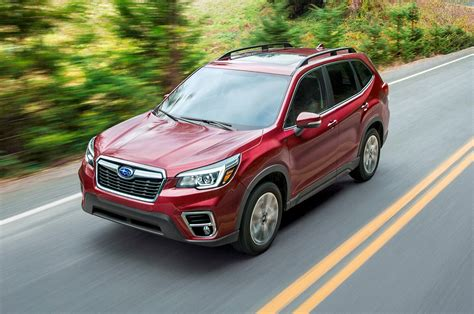 2019 Subaru Forester First Look Ready For The Crv And