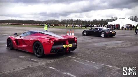 Ferrari Laferrari Vs Bugatti Veyron 16.4 Super Sport