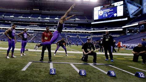 American National Student Softball Midget Championships Byron Jones At The Nfl Draft 'Mayor' Leads Leap