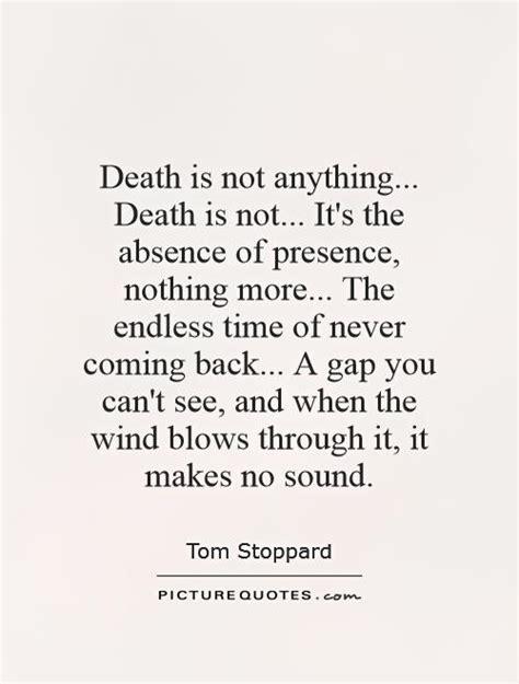 death    death     absence