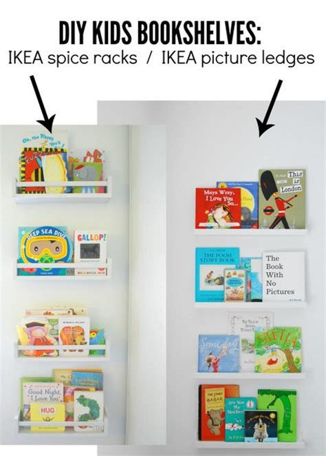 Ikea Spice Rack Book by How To Use Ikea Spice Racks For Books Or The Easiest Diy